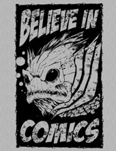 Believe In COMICS T-Shirt (Fishy Version)