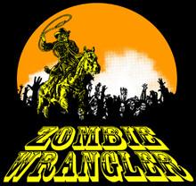 Zombie Wrangler by Matt Orsman T-Shirt