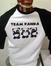 Team Panda Raglan
