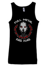Full Metal Fag Hag Ladies Tank