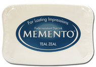 Teal Zeal Memento Ink Pad