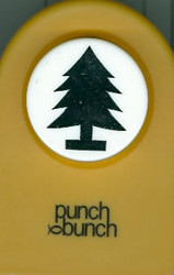 Christmas Tree with Stand Large Punch