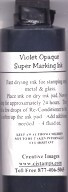 Violet Super Marking Ink - 4 oz.