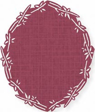 Bamboozled Oval Border Punch