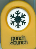 Aspen Snowflake Small Punch