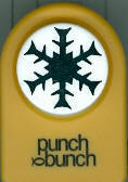 Snowmass Snowflake Medium Punch