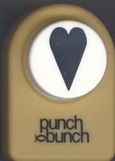 Folk Heart Medium Punch