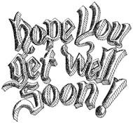 Get Well Soon - 64W04