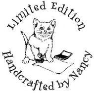 Cat Limited Edition Custom Rubber Stamp