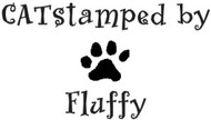 Catstamped Custom Rubber Stamp
