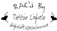 RAK'd By Custom Rubber Stamp