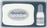 White StazOn Ink Pad
