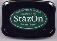 Forest Green StazOn Ink Pad