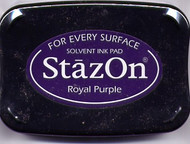 Royal Purple StazOn Ink Pad