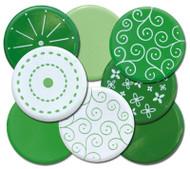 Go Green Big Bold Round Brads