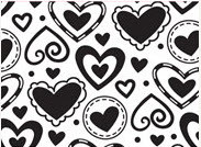 Layered Heart Embossing Folder