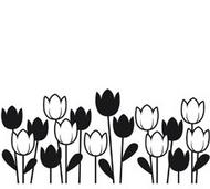 Spring Tulips Embossing Folder