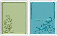 Elegant Vine & Flair Embossing Folder Set