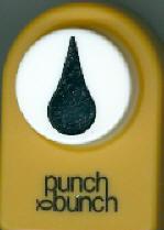 Teardrop Medium Punch