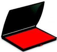 "2 7/8"" x 6 1/8"" Red Felt Ink Pad"