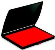 "2 1/4"" x 3 1/2"" Red Felt Ink Pad"