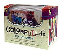 Colorful Life  Note Cards
