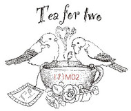 Tea For Two Birds - 171M02