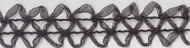 Black Double Organdy Cord