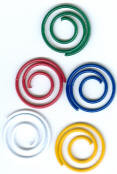 Primary Assorted Mini Spiral Clips