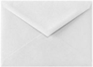 A6 White Smooth V Flap Envelopes