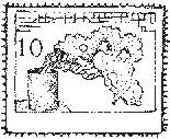 Oriental 10¢ Postage Stamp