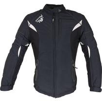 Richa Kayla Ladies Textile Jacket - Black / White