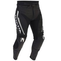 Richa Monza Leather Trousers - Black / White