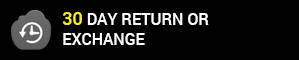 30 day return or exchange policy