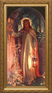 Light of the World - Standard Gold Framed Art