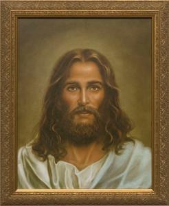 Modern Christ Painting Framed Art