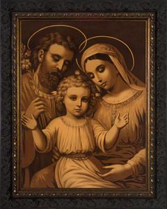 Holy Family (Antique) Framed Art