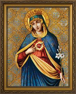 Immaculate Heart III Framed Art