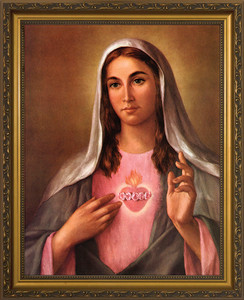 Immaculate Heart II Framed Art