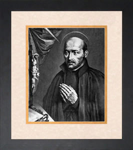 St. Ignatius of Loyola Matted Framed Art