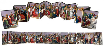 Stations of the Cross Hinged Mantle Set