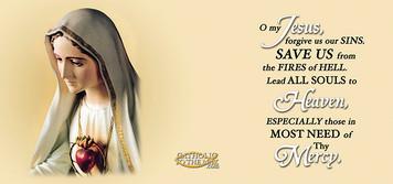 Our Lady of Fatima Mug