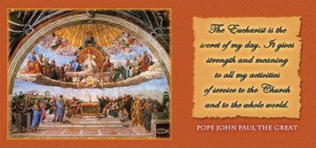 Disputation of the Eucharist with JPII Quote Mug