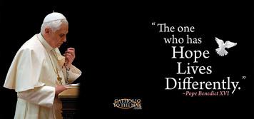 Pope Benedict XVI Hope Mug