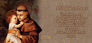 A Godfather's Prayer St. Anthony Mug