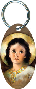 Christ Child Oval Keychain