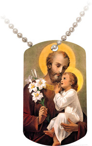 St. Joseph (Younger) Dog Tag