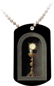 Eucharist Dog Tag