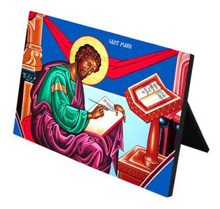 St. Mark Horizontal Desk Plaque