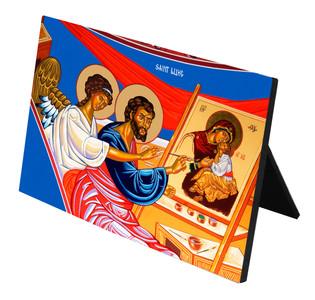 St. Luke Horizontal Desk Plaque